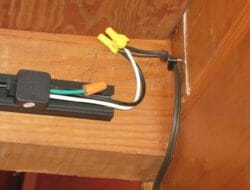 Electrical Exposed splices