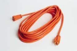 Extension cord not for permanent power to garage door openers