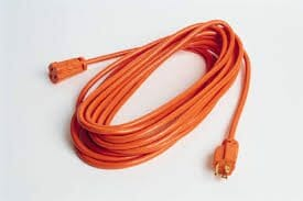 Extension cord not for permanent power to garage door openers