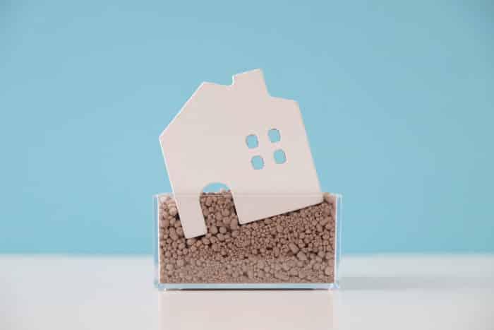 House settling in soil