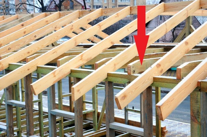 Rafter ties and rafters