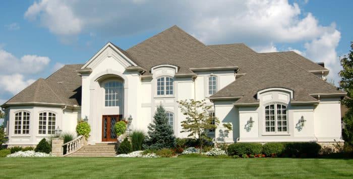 Luxury Stucco Home