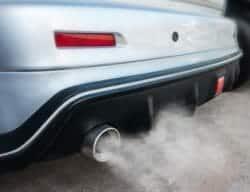 Car exhaust Carbon Monoxide