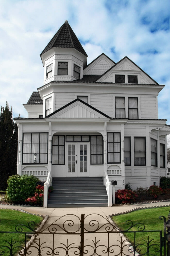 Old beautiful victorian house