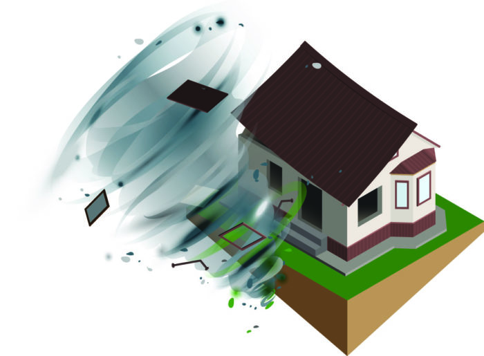 Wind storm, hurricane, tornado