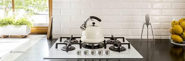 Kitchen and stove