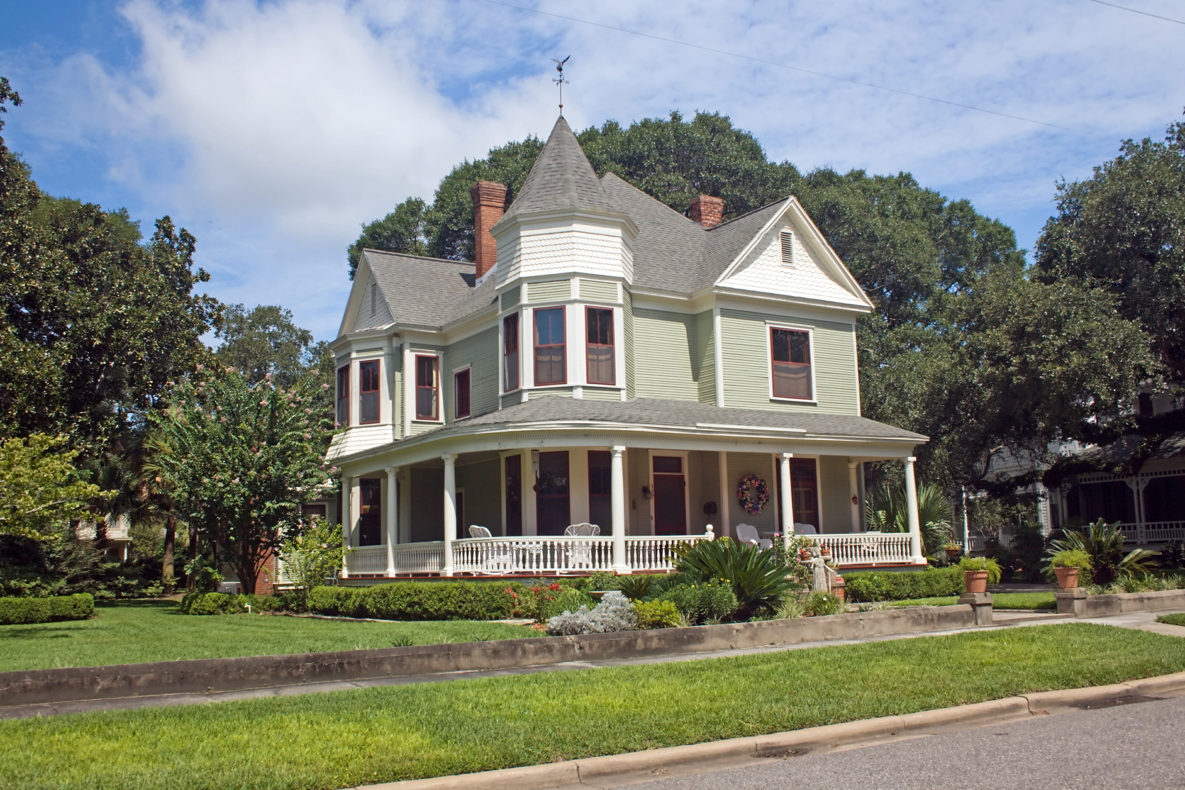 Old Victorian house in good condition