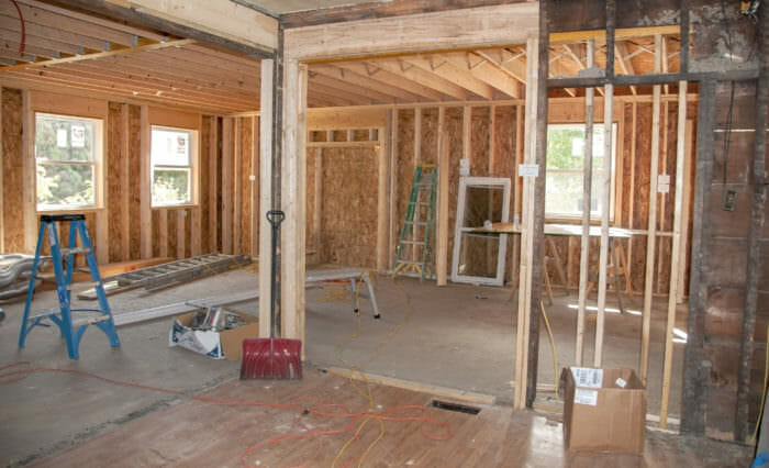Remodeling framing