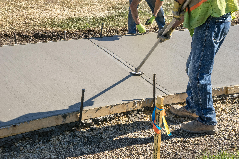 Concrete walk jointer