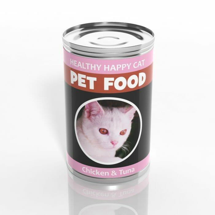 Pet food can