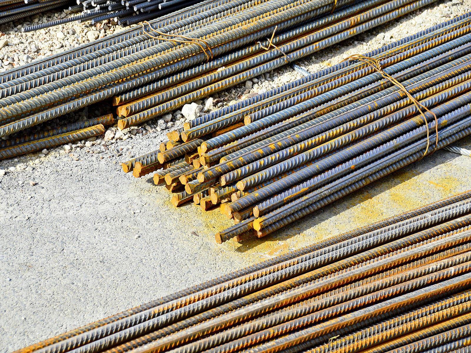 Pile of rebar