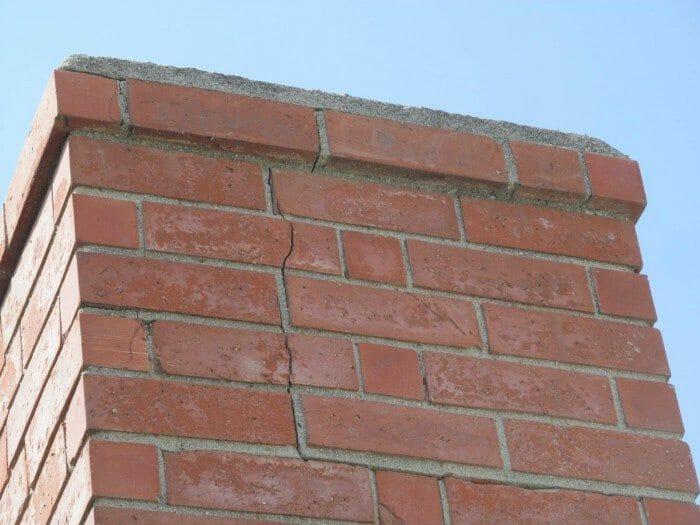 Chimney Cracks Serious Or Not Buyers Ask