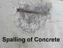 Concrete Spalling