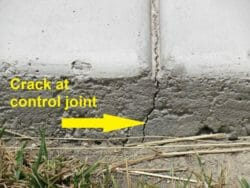control joint