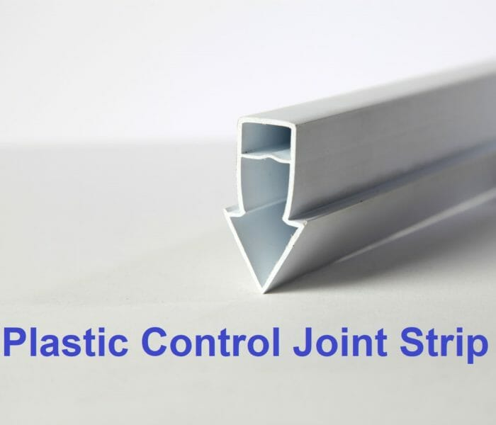Plastic control joint