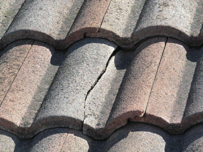 Roof Tiles Cracked Damaged Or Missing When Repairing Be