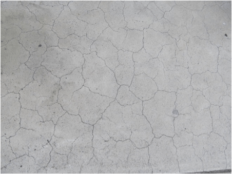 Concrete Crazing Cracks