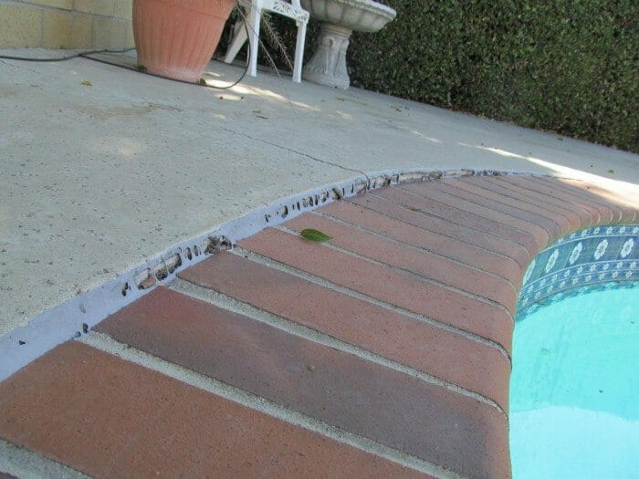 Cracked or Shifted Pool Coping: Causes and What To Do ...