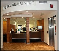 Building department permits and codes