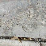 Deteriorated concrete