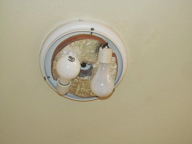 Light Globes Missing Can Be A Fire Safety Concern Buyers Ask