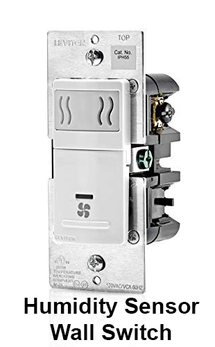 Humidity Sensor Wall Switch