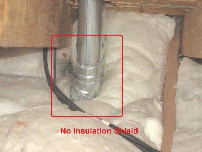 Insulation contractors and handymen. & Insulation Vent Shields In The Attic: Fire Safety - Buyers Ask