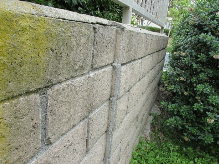 Leaning Retaining Walls Buyers Ask