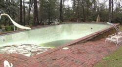 Pool pop up