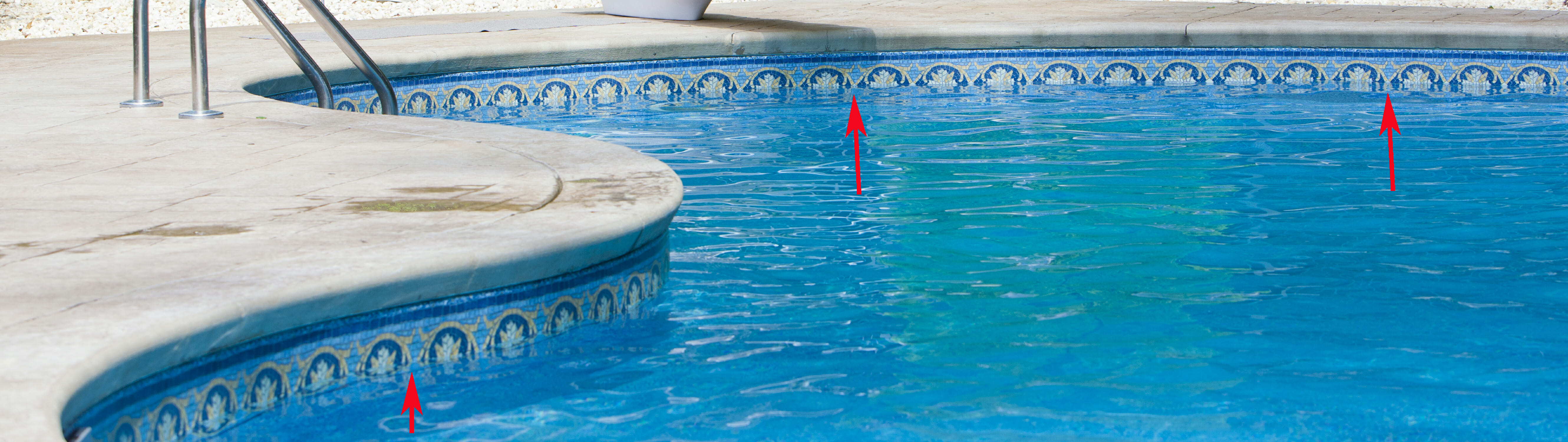 How to tell if pool level