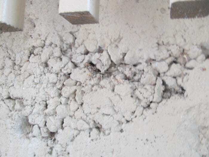 Rock Pockets In Foundations And Basement Walls Buyers Ask