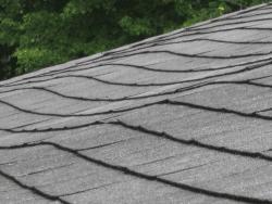 Roof wavy