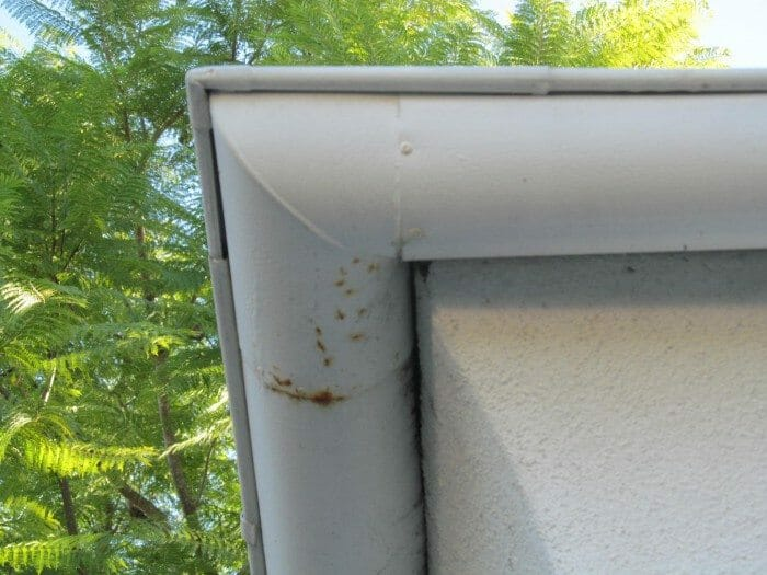 Rusted Bent Or Damaged Gutters Buyers Ask