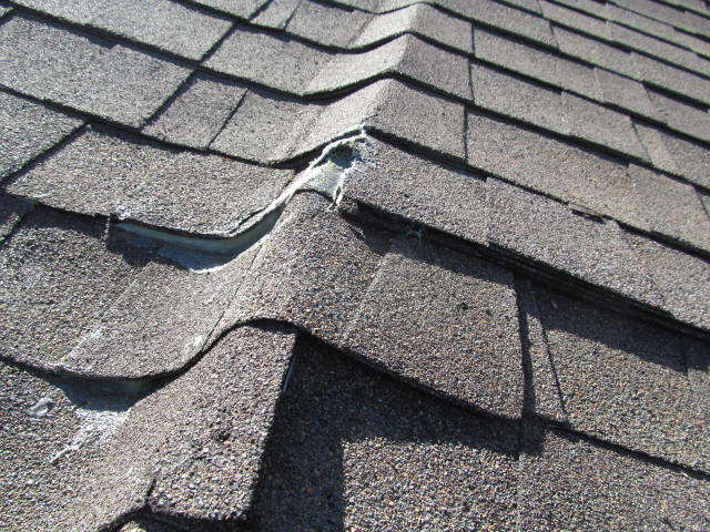 Composition Shingle Missing Or Damaged Check The