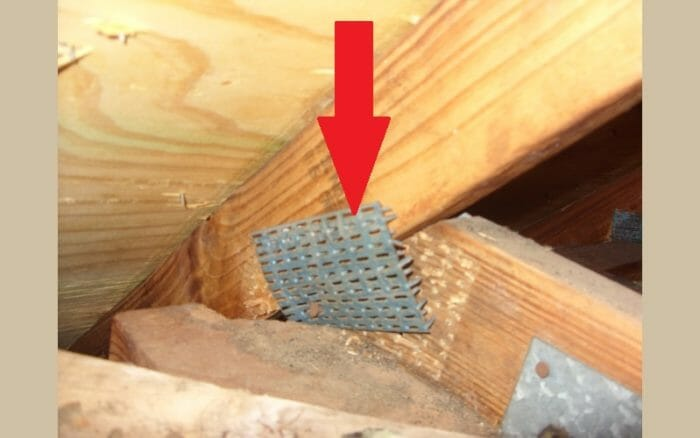 Truss connector - plate loose
