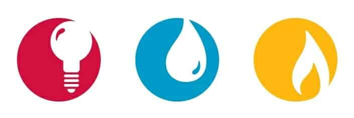 Utilities, electric, gas, water