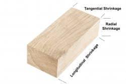 wood shrinkage