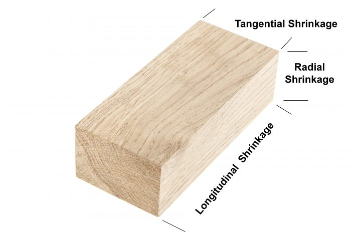 wood shrinkage