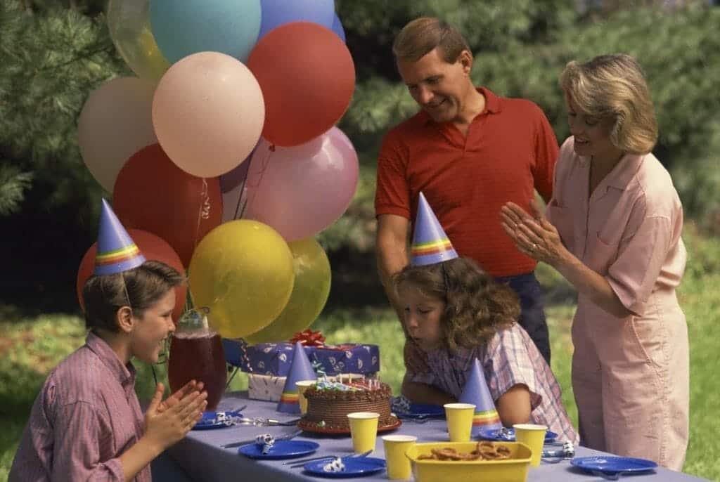 kids yard party