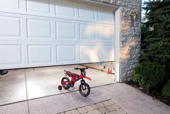 Garage door sensor safety